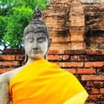 Ancient Buddha statue — Stock Photo #30368083