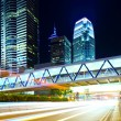 Modern city at night — Stock Photo #30369313