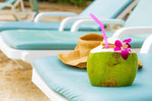 Relaxation on beach — Stock Photo