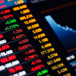 Stock Photo: Stock market daton screen