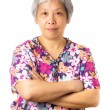 Asian old woman — Stock Photo