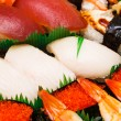 Japanese sushi takeaway — Stock Photo