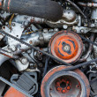 Vehicle engine close up — Stock Photo