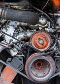 Motor vozidla zblízka — Stock fotografie