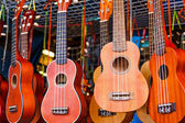 Ukulele guitar for sell in the market — Stock Photo
