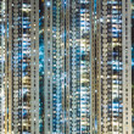 Illuminated Residential building — Stock Photo #31016443