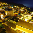 Taiwan village at night, Jiufen — Stock Photo