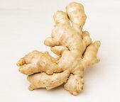 Ginger isolated on white — Stock Photo