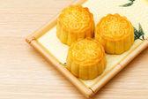 Mooncake tradicional — Foto de Stock