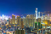 Kowloon downtown district in Hong Kong — Stock Photo