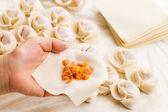 Chinese dumpling — Стоковое фото