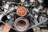 Vehicle engine — Stock Photo