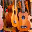 Stock Photo: Ukulele guitar for sell