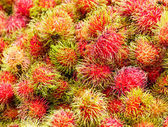 Red rambutan — Foto de Stock