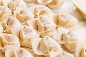 Traditional homemade chinese dumpling — Stock Photo