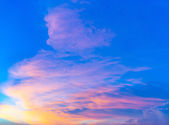 Cloudscape during sunset — Stock Photo