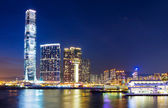 Kowloon skyline — Stock Photo