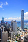 Financial district in Hong Kong — Stock Photo