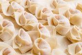 Homemade chinese dumpling — Stock Photo