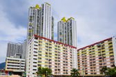 Hong Kong residential buildings — Stock Photo