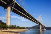 Puente ting kau en hong kong — Foto de Stock