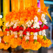 Stock Photo: Thai worship garland for sell