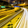 Busy traffic on highway at night — Stock Photo #31941931