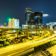 Busy traffic on highway at night — Stock Photo #32044703