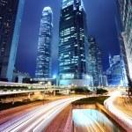 Hong Kong city at night — Stock Photo #32288125