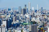 Tokyo skyline in Japan — Stock Photo