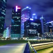 Urban cityscape in Singapore — Stock Photo