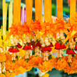 Stock Photo: Garland flower for worship