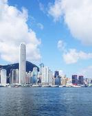 Financial district in Hong Kong — Stock Photo