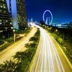Singapore skyline at night — Stock Photo #32515119