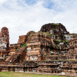 Old siam temple of Ayutthaya — Stock Photo
