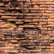 Ancient red brick wall — Stock Photo