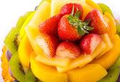 Torta di frutta — Foto Stock