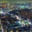 Tokyo city at night  — Photo