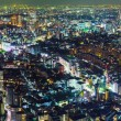 Tokyo city at night  — Stock fotografie