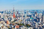 Tokyo city skyline — Stock Photo