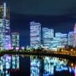 Yokohama city in Japan — Stock Photo #33162287