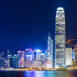 Hong Kong skyline at night — Stock Photo #33162363