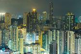 Paisaje urbano en hong kong — Foto de Stock