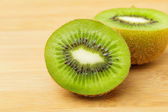 Slices of green kiwi — Stock Photo