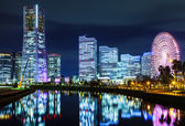 Yokohama city in Japan — Stock Photo