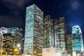 Firemní budovy v hong kongu — Stock fotografie