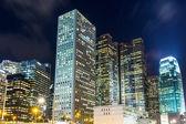 Företags byggnad i hong kong — Stockfoto