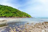 Beautiful beach on island — Stock Photo