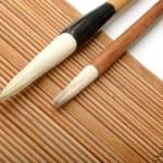 Chinese writing brush — Stock Photo #3391746