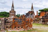 Arquitectura histórica en ayutthaya, tailandia — Foto de Stock